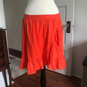 J Crew Linen Skirt (14)